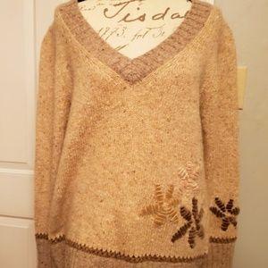 Women's Escada Sport Wool & Mohair Blend Sweater L